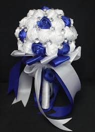 blue wedding bouquets royal blue and white wedding bouquets artificial 2015 personalized