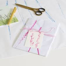 tissue paper gift wrap tissue paper gift wrap with handprinted grass in three colours