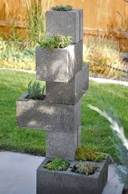 here are 14 creatively different ways to use cinder blocks in your