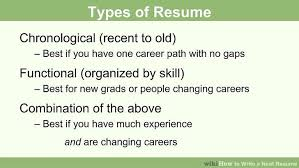 how to write a neat resume 13 steps with pictures wikihow