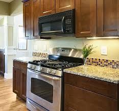 glass tile backsplash ideas for kitchens our best kitchen with glass tile ideas decoration glass backsplash