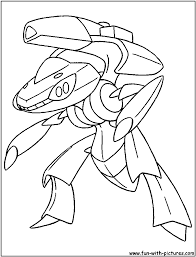 cloring pages genesect pokemon colouring pages coloring pages
