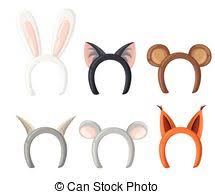 deer ears headband headband with ears set rabbit deer clip