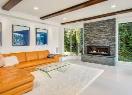 livingroom fireplace 60 stunning modern living room ideas photos designing idea