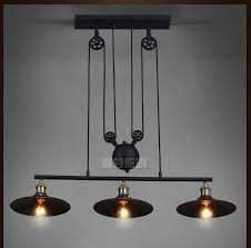 Pulley Pendant Light Nordic Industrial Pendant L Lights Rh Loft Pulley Adjustable