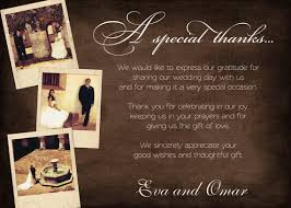 what to write in a thank you card for weddings and bridal