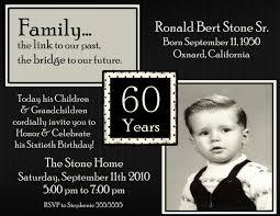60th birthday party invitations wording free invitations ideas