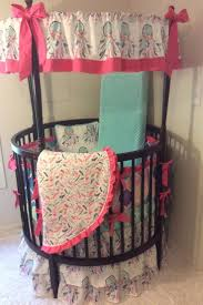 Pink Camo Crib Bedding Set by 42 Best Round Crib Bedding Images On Pinterest Round Cribs