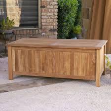 outdoor storage bench seat build storage bench design plans