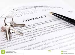 real estate contract stock photo image 59544021