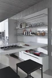 cuisine en verre étagères de cuisine en verre design monprojetcuisine fr