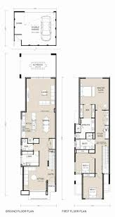 modern home design narrow lot best 2 storey homes designs for small blocks pictures interior long