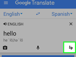 download a language for offline use in google translate for