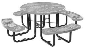 round picnic tables for sale round picnic table plastic coated expanded metal with powder coated