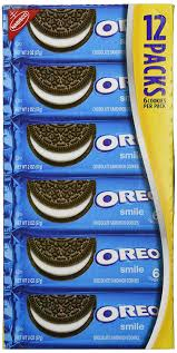 amazon com oreo chocolate sandwich cookies 2 ounce packages