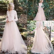 key back wedding dress discount 2018 garden a line wedding dresses