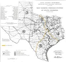 Texas Highway Map Meridian Highway History Thc Texas Gov Texas Historical Commission