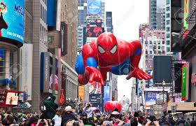 manhattan november 25 spider character balloon passing