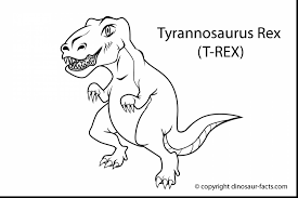 unbelievable rex coloring pages with t rex coloring page