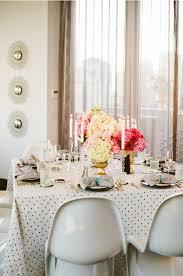 gold polka dot table cover polka dot wedding inspiration fun and fabulous polka dot