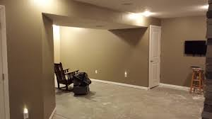 Finished Basement Carpet Building A Ryan Home Sienna Model Updated Pics Before Carpet And
