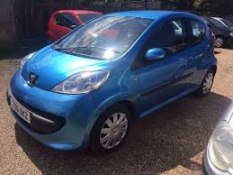peugeot first car peugeot 107 1 0 3dr 2006 ultra low mileage ideal first car