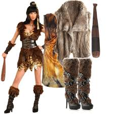 Cave Woman Halloween Costumes Diy Costume Cave Woman Hollow Scream Diy