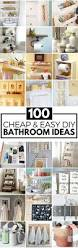 100 cheap and easy diy bathroom ideas prudent penny pincher