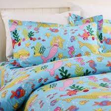 Little Girls Queen Size Bedding Sets by Disney Little Mermaid 7pcs Twin Full Queen Size Comforter In A Bag