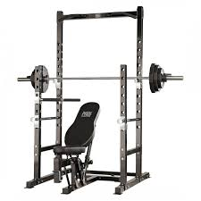 Squat Rack And Bench Press Combo Finer Fitness Treadmills Ellipticals Exercise Bikes Home Gym