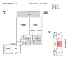 jade brickell floor plans