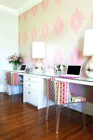 Home Office With Two Desks Office Design Home Office Two Desk Home Office Design Two Desks