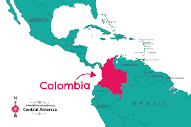 Map Of Colombia Where Is Medellin Located Medellincolombia Co