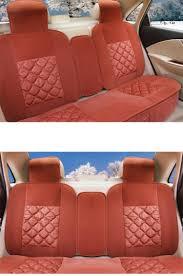 car seat cushion winter plush fiat 500 500l car seat pad seat