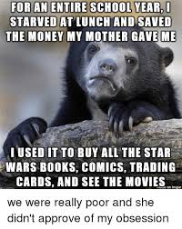 Buy All The Books Meme - for an entire schoolyear i starved at lunch and saved the money my
