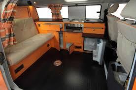 volkswagen bus interior vw t2 rio from danbury campervans caravans and trailers