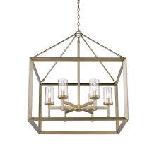 Lighting Chandelier Gold Drum Chandeliers Hanging Lights The Home Depot