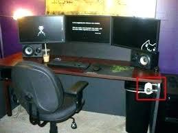 pc gamer bureau bureau gamer meuble informatique multimacdia de p pour pc bim a co
