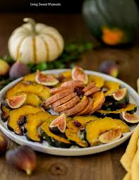 sugar roasted sweet potatoes and squash living sweet moments