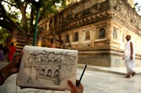 this woman drew 50 sketches of iconic sights across india in 50