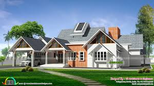 awesome european style single floor home kerala home design and