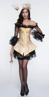 halloween corsets cheap 2pcs yellow brocade lace up corset u0026 black lace dress n10898
