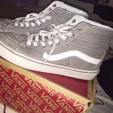light gray vans womens vans sk 8 hi mte sneaker women vans shoes vans the best