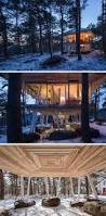 this japanese vacation home is raised up on stilts to avoid the