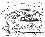 Scooby Doo Coloring Pages Free Printable Mystery Coloring Pages