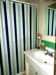 Nautical Bathroom Curtains The Best Height To Hang Anchor Shower Curtain Bathroom