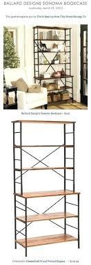 ballard designs sonoma bookcase ballard bookcase designs tall industrial bookcase i bookcases