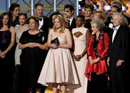 the handmaid s tale cleans up at emmy awards the