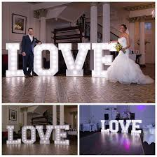 wedding hire letters wedding hire bright 4ft letters by andylids