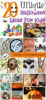 20 unique halloween ideas for kids